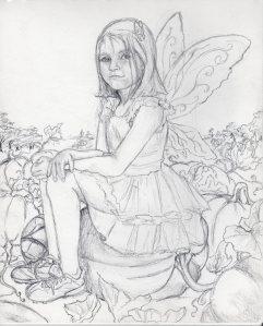 Pumpkin patch fairy