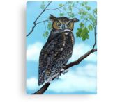 horned-owl-canvas