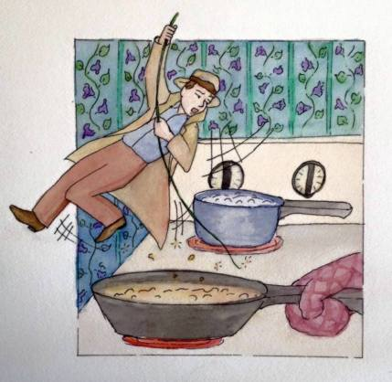 Kitchen dangers